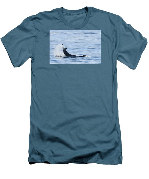 Flipping Off Men's T-Shirt (Slim Fit) by Harold Piskiel