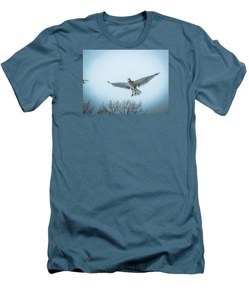 Floating On Hope  Men's T-Shirt (Slim Fit) by Glenn Feron