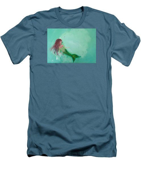 Floaty Mermaid Men's T-Shirt (Athletic Fit)