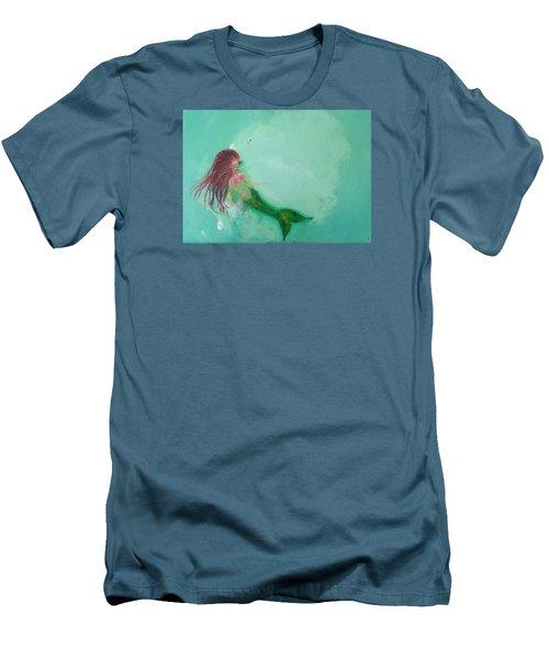 Floaty Mermaid Men's T-Shirt (Athletic Fit)