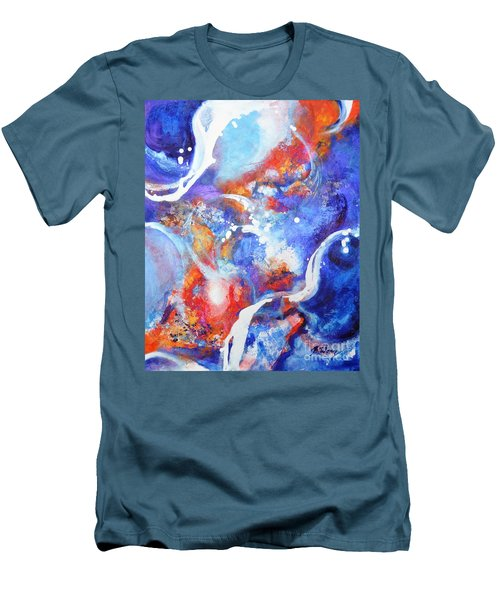 Flow Men's T-Shirt (Slim Fit) by Betty M M Wong