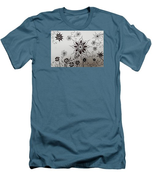 Flower 10 Men's T-Shirt (Athletic Fit)