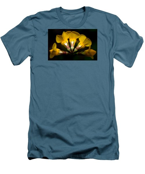 Flower Candelabra Men's T-Shirt (Slim Fit) by Adria Trail