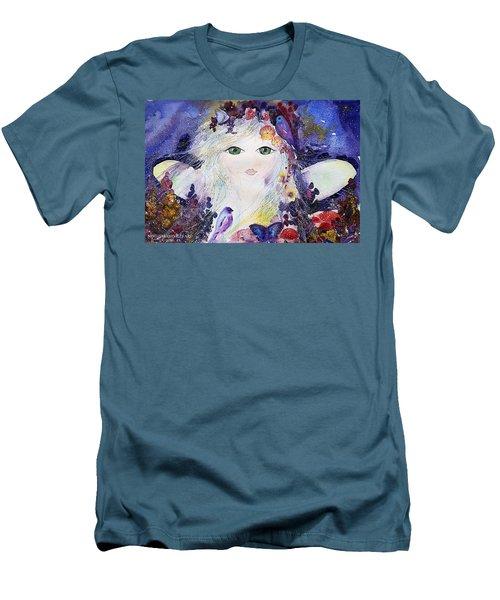Flower Fairy Men's T-Shirt (Athletic Fit)