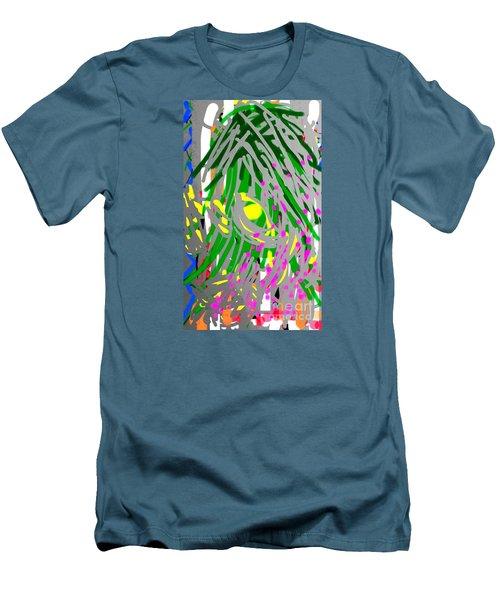 Flowering Orchids Men's T-Shirt (Athletic Fit)