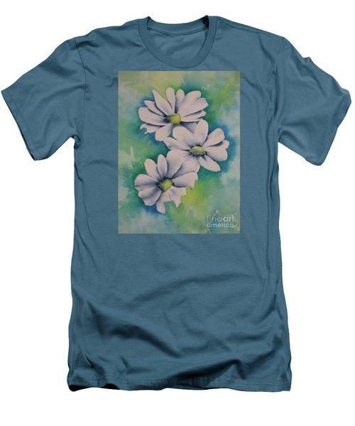 Flowers For You Men's T-Shirt (Slim Fit) by Chrisann Ellis