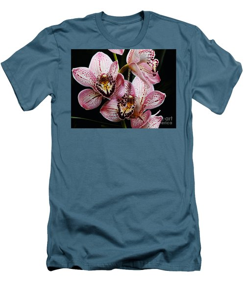 Flowers Of Love Men's T-Shirt (Slim Fit) by Scott Cameron