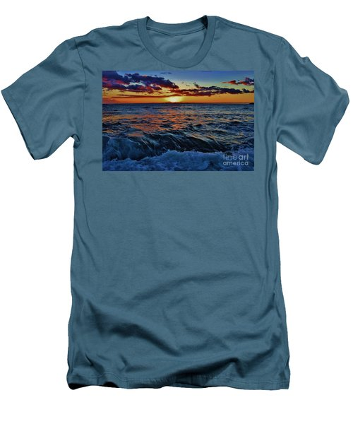 Fluid Sunset Men's T-Shirt (Athletic Fit)