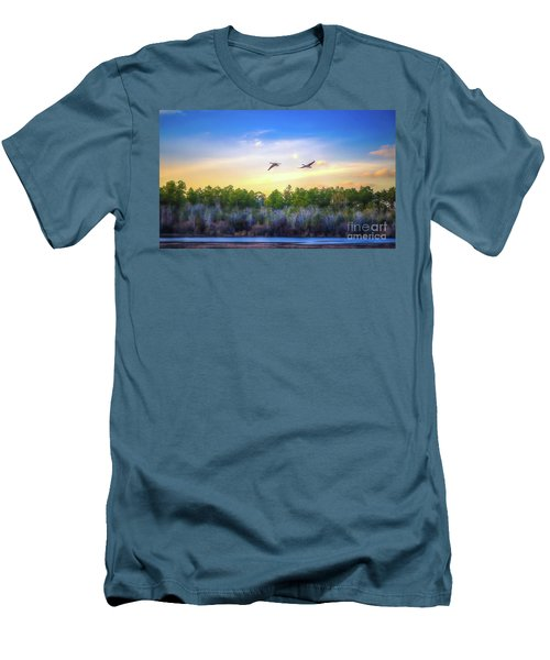 Fly Away Men's T-Shirt (Slim Fit) by Maddalena McDonald