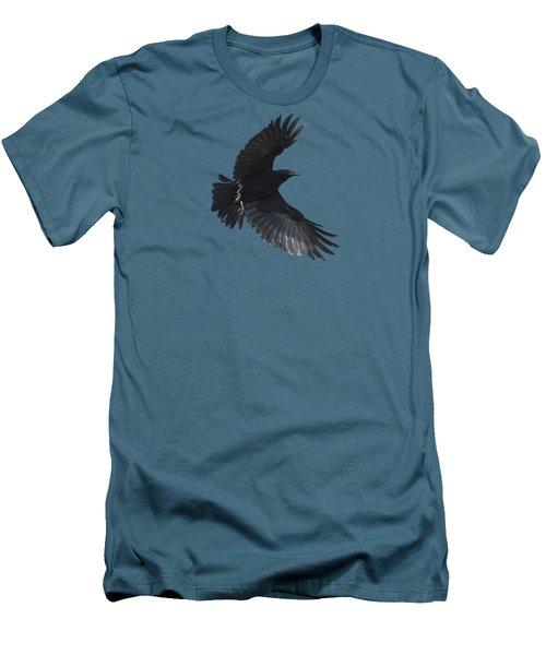 Flying Crow Men's T-Shirt (Slim Fit) by Bradford Martin