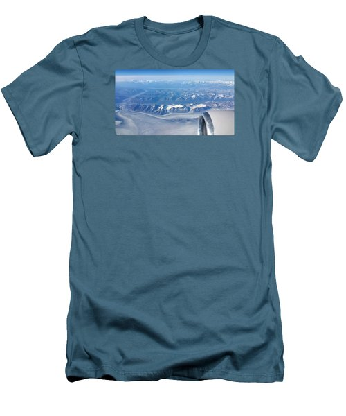 Flying Through Men's T-Shirt (Athletic Fit)