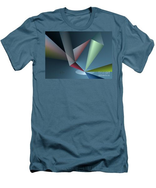 Focus Men's T-Shirt (Slim Fit) by Leo Symon