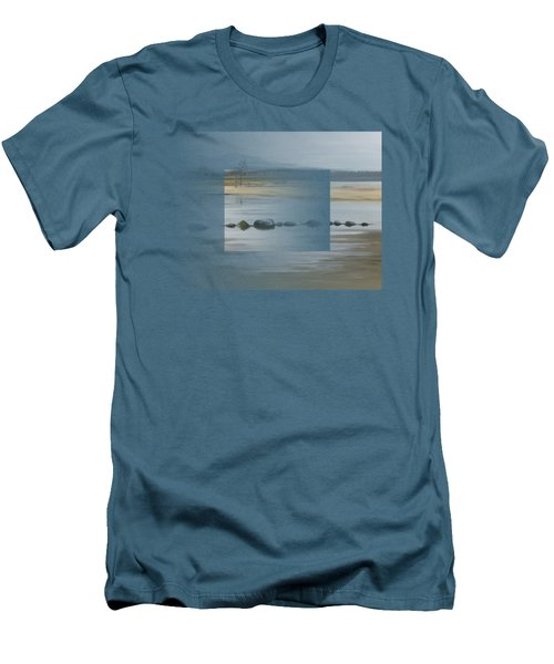 Foggy Day Men's T-Shirt (Slim Fit) by Ivana
