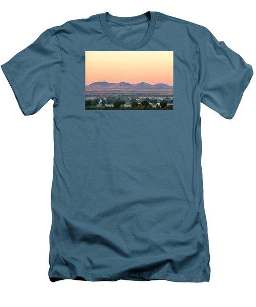 Foggy Harlem Bottom Men's T-Shirt (Slim Fit) by Todd Klassy