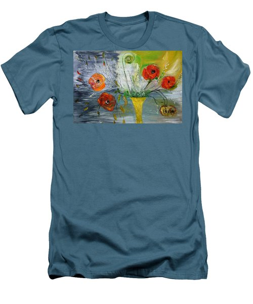 For Mom Men's T-Shirt (Slim Fit) by Evelina Popilian