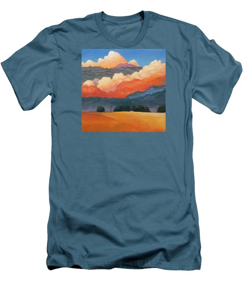 For The Love Of Clouds Men's T-Shirt (Slim Fit) by Gary Coleman