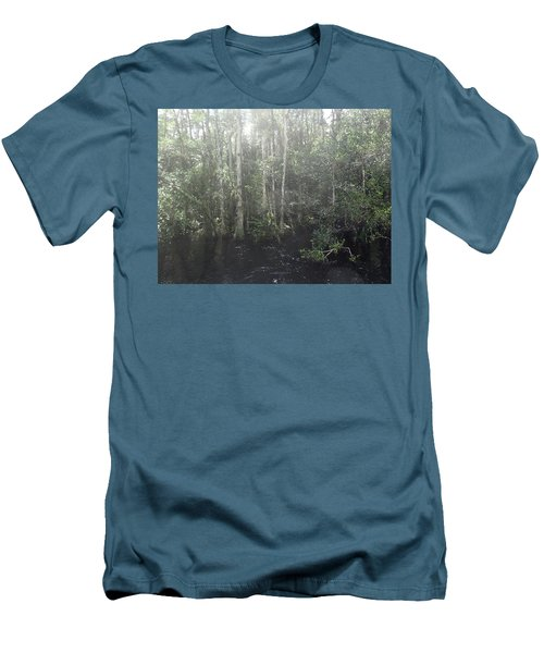 Forest, Sun Swamp Men's T-Shirt (Athletic Fit)