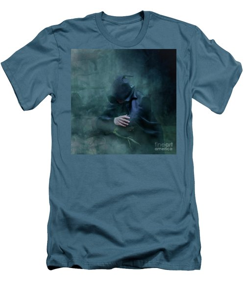Forgetting  Men's T-Shirt (Slim Fit) by Agnieszka Mlicka