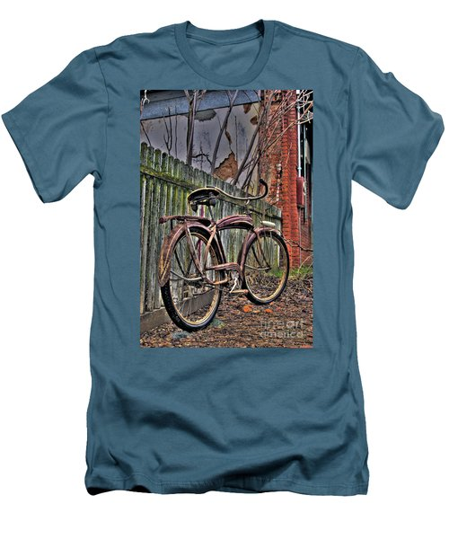 Men's T-Shirt (Slim Fit) featuring the photograph Forgotten Ride 2 by Jim and Emily Bush