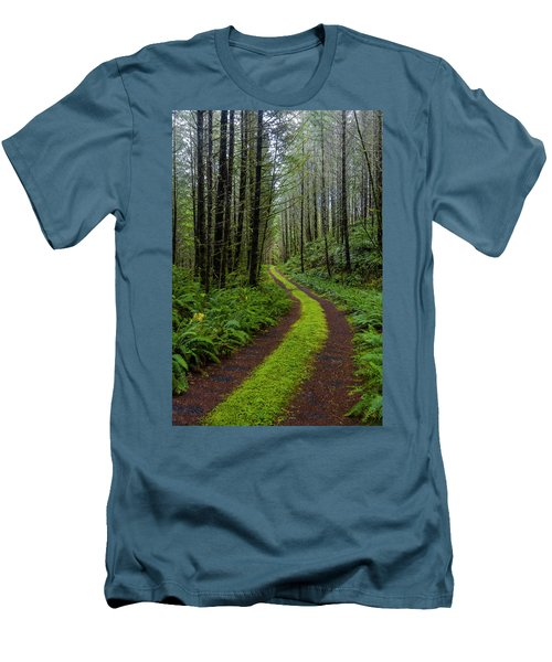 Forgotten Roads Men's T-Shirt (Athletic Fit)