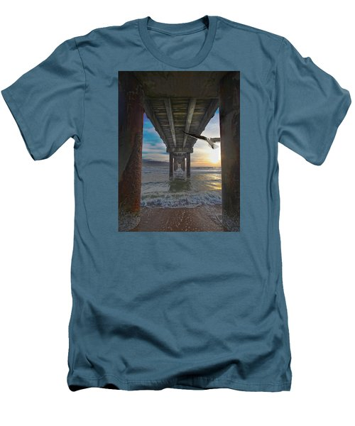 Framed Men's T-Shirt (Slim Fit) by Robert Och