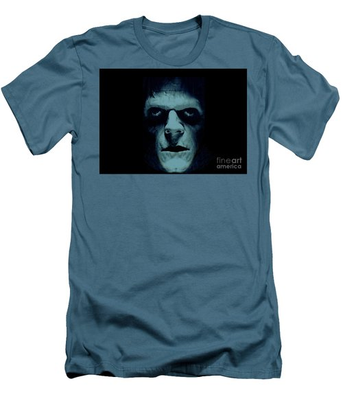 Men's T-Shirt (Slim Fit) featuring the photograph Frankenstein by Janette Boyd
