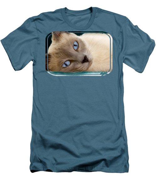 Frankie Blue Eyes Men's T-Shirt (Athletic Fit)
