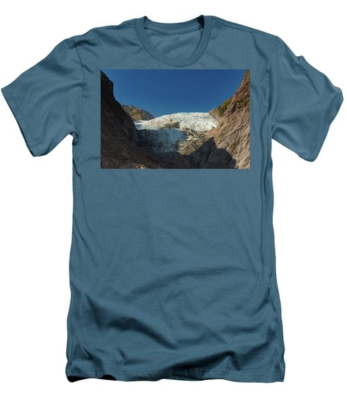 Men's T-Shirt (Athletic Fit) featuring the photograph Franz Josef Glacier by Gary Eason
