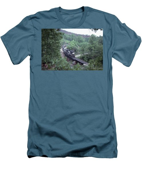Freight At Mill Creek Men's T-Shirt (Athletic Fit)