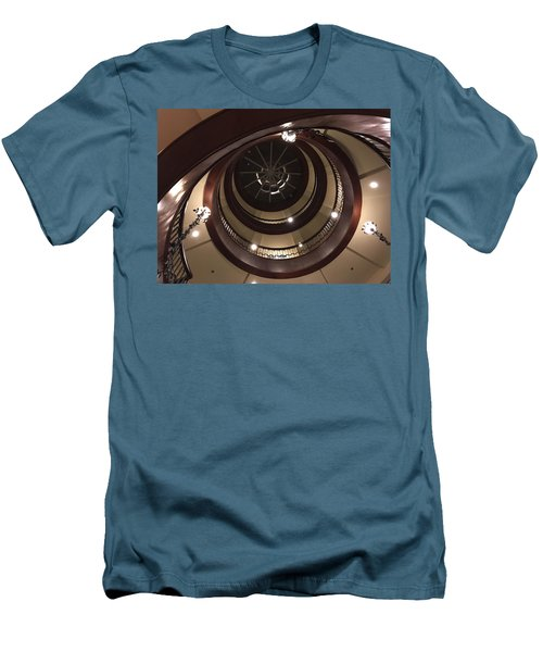 French Quarter Spiral Men's T-Shirt (Athletic Fit)