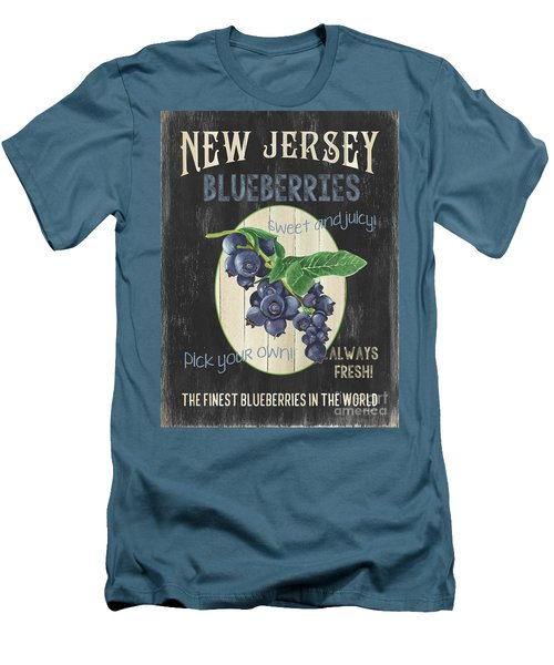 Fresh Berries 1 Men's T-Shirt (Athletic Fit)