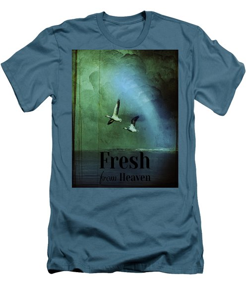 Fresh From Heaven Men's T-Shirt (Athletic Fit)