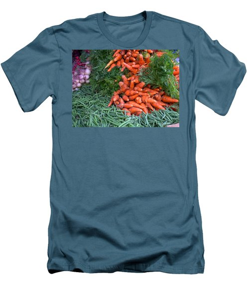 Fresh Veggies Men's T-Shirt (Athletic Fit)