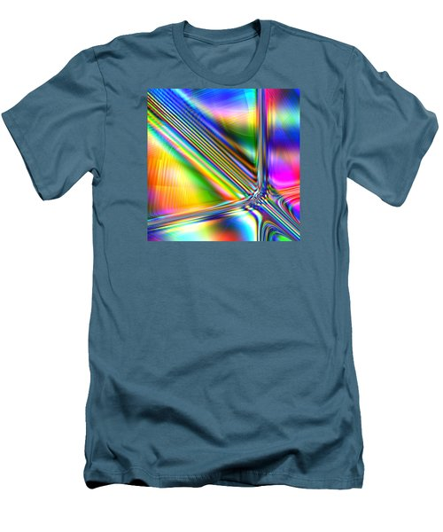 Men's T-Shirt (Slim Fit) featuring the digital art Freshly Squeezed by Andreas Thust