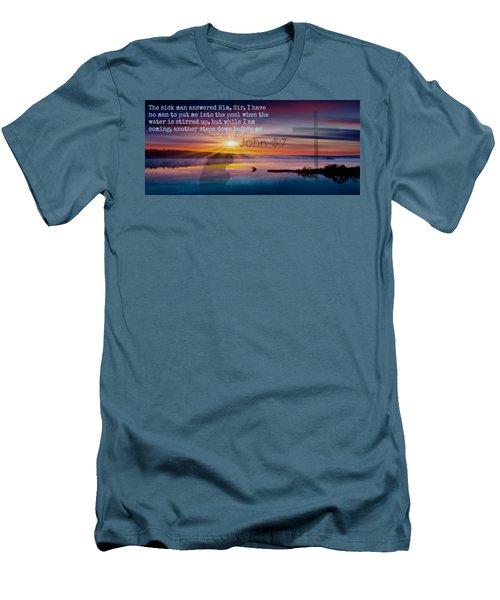 Friendship207 Men's T-Shirt (Slim Fit) by David Norman