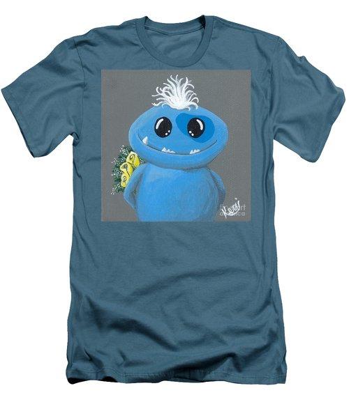 Friendzone Filbert Men's T-Shirt (Slim Fit) by Kerri Ertman