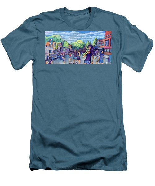 Frisco Bbq Festival 2017 Men's T-Shirt (Slim Fit) by David Sockrider