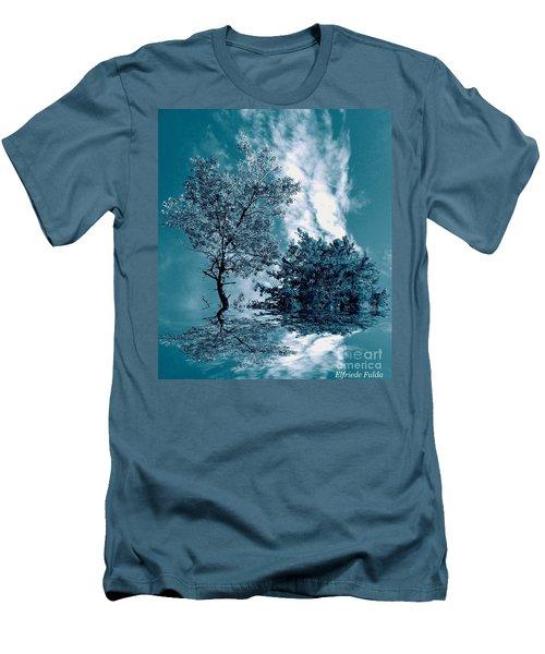 Frollicking Men's T-Shirt (Slim Fit) by Elfriede Fulda