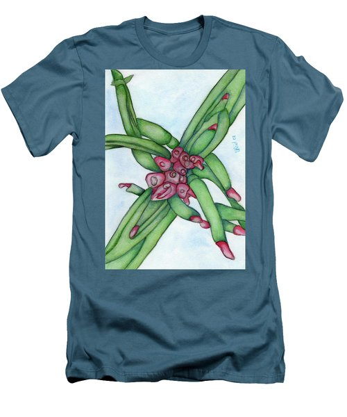 From My Garden 3 Men's T-Shirt (Slim Fit) by Versel Reid