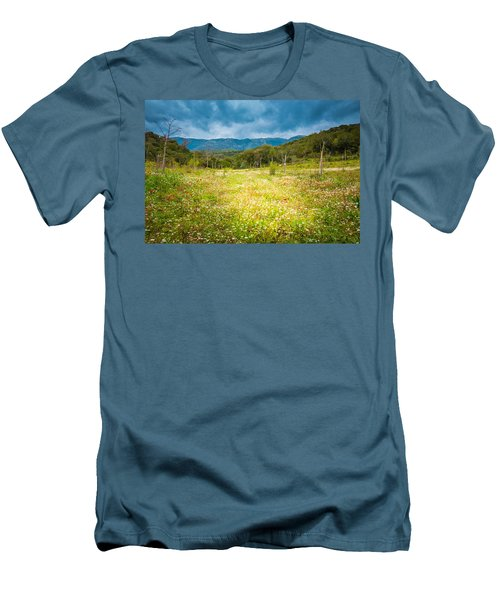 From Winter To Spring Men's T-Shirt (Slim Fit) by Stavros Argyropoulos