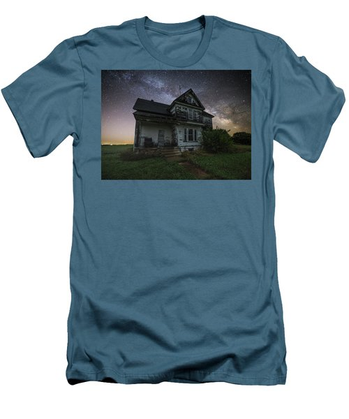 Men's T-Shirt (Slim Fit) featuring the photograph Front Porch  by Aaron J Groen