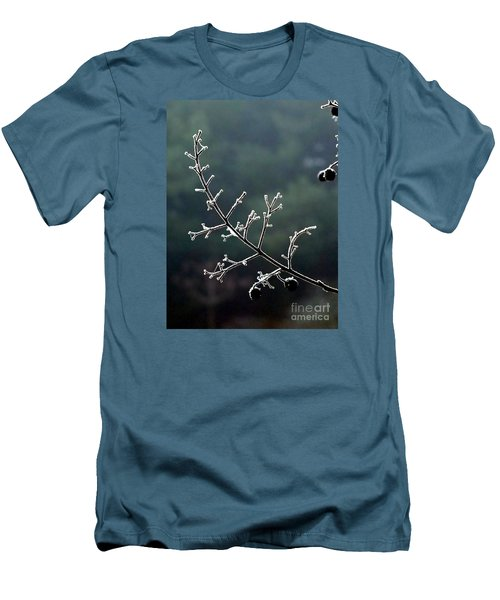 Frosted Men's T-Shirt (Slim Fit) by Christy Ricafrente