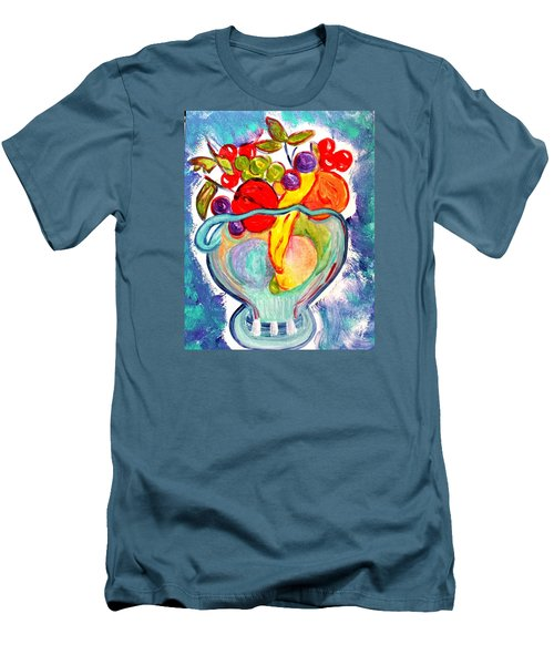 Fruit Bowl Men's T-Shirt (Athletic Fit)
