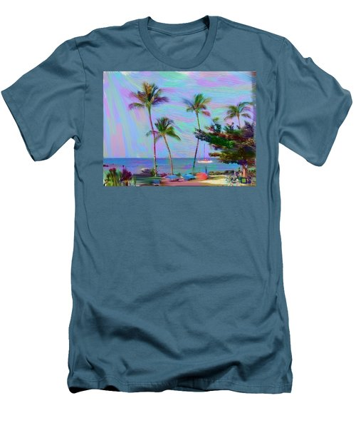Fun At The Beach Men's T-Shirt (Athletic Fit)