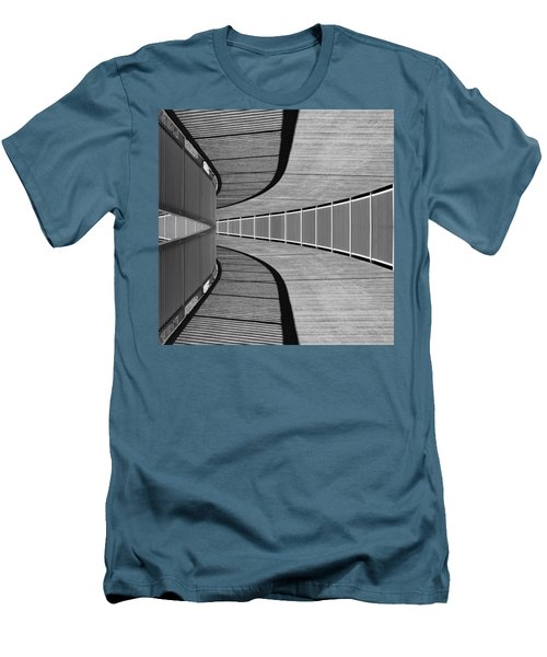 Men's T-Shirt (Slim Fit) featuring the photograph Gangway by Chevy Fleet