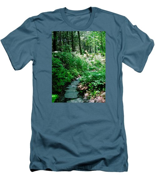 Garden In The Woods Men's T-Shirt (Athletic Fit)