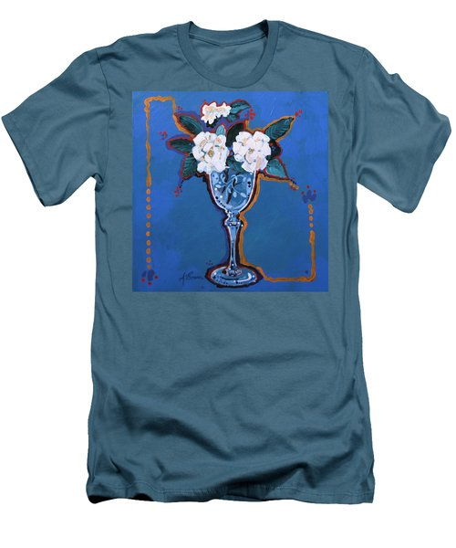 Gardenias Men's T-Shirt (Athletic Fit)