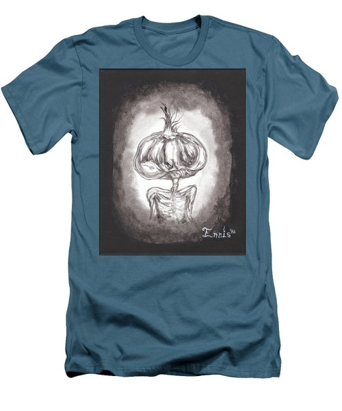 Garlic Boy Men's T-Shirt (Slim Fit) by Christophe Ennis