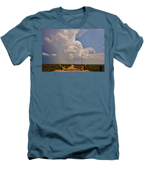 Men's T-Shirt (Athletic Fit) featuring the photograph Gates Of Hail by Ed Sweeney