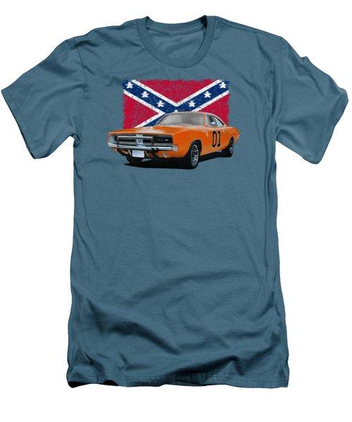 General Lee Rebel Men's T-Shirt (Slim Fit) by Paul Kuras